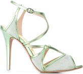 Francesca Mambrini - strapped sandals - women - Leather/Suede - 36