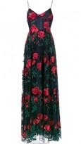 Adam Selman Navy Cotton Dress for Women