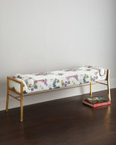 Cynthia Rowley for Hooker Furniture Fleur de Glee Bench