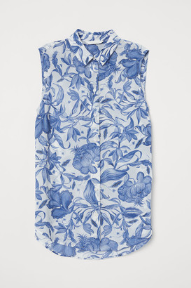 H&M Sleeveless blouse