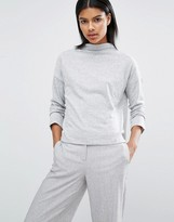 Vila High Neck Crop Sweater