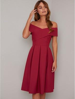 Chi Chi London Bayra Dress - Red