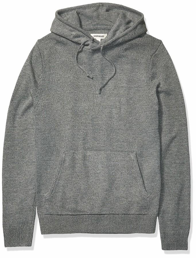 Goodthreads Sherpa Fleece Zip Pullover with Hood Hombre