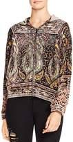 Haute Hippie Sahara Embellished Track Jacket