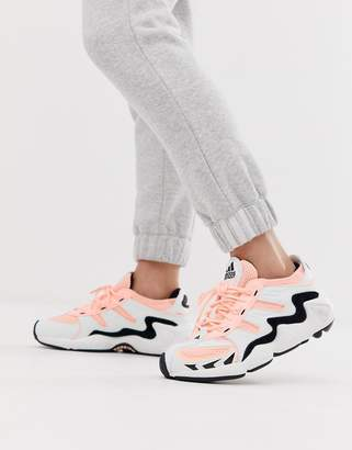 adidas FYW S-97 trainer in pink and grey