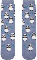 Accessorize All Over Fluffy Panda Socks