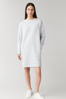 Cos Cotton Sweatshirt Dress