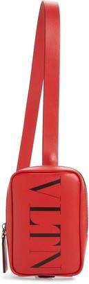 Valentino Logo Shoulder Pouch