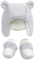 Nordstrom Infant Faux Fur Hat & Bootie Set