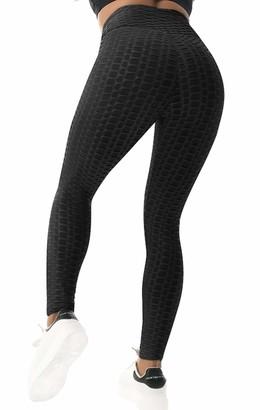 Fashion Boutique Beelu Women's High Waist Butt Scrunch Push Up Leggings