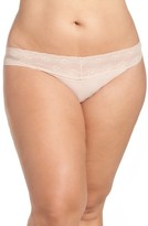 Natori Plus Size Women's Bliss Perfection Thong