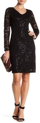 Marina Back Cutout Lace Dress