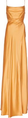 Markarian Greta Silk-Satin Gown