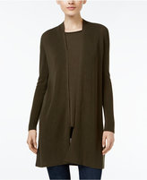 Eileen Fisher Tencel® Rib-Knit Open-Front Cardigan