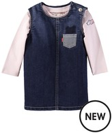 Levi's Baby Girls Dress And T-shirt Gift Set