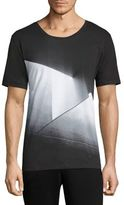 HUGO BOSS K-Dicino Abstract Printed T-Shirt