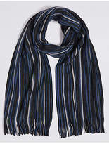M&S Collection Striped Rochelle Scarf