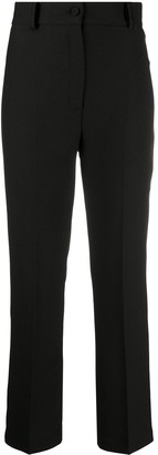 Hebe Studio Cropped Tailored Trousers