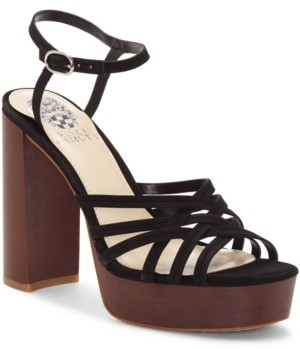 Vince Camuto Women's Larriss Woven Platform Sandals Women's Shoes