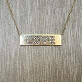Rocks With Soul Love Bar Necklace