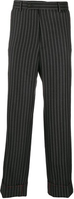 Gucci Pinstripe Tailored Trousers