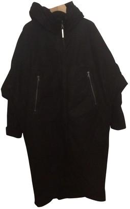 Isaac Sellam Black Suede Coat for Women