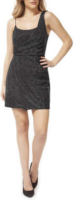 Dex One Strap Shimmer Mini Dress