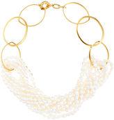 Catherine Canino Multi Strand Pearl Necklace