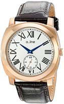 A Line a_line Women's AL-80023-RG-02-BR Pyar Analog Display Japanese Quartz Brown Watch