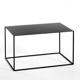 Am.pm. Romy Large Rectangular Side Table in Metal