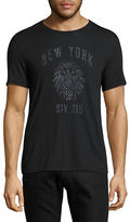 John Varvatos Star U.S.A. New York Div. 315 Graphic T-Shirt