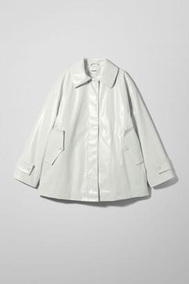Weekday Alani Patent Jacket - Beige