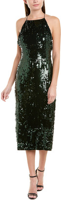 Jason Wu Collection Sequin Silk-Lined Cocktail Dress
