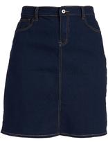 Be Girl Dark Indigo High-Waist Skirt - Plus