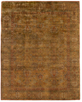 Traditional Hand-Knotted Wool Persian Rug