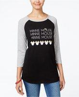 Freeze 24-7 Juniors' Disney Minnie Mouse Graphic T-Shirt