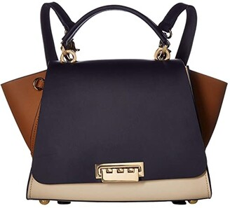 ZAC Zac Posen Eartha East/West Convertible Backpack (Camel) Backpack Bags