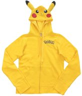 Pokemon Pikachu Boys Character Zip-up Hoodie (5/6)