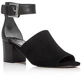 Marc Fisher Robe Ankle Strap Block Heel Sandals