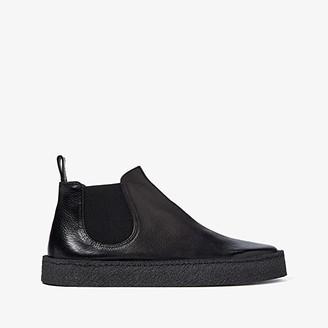Marsèll Cassapara Reversed Leather Gum Sole Chelsea (Nero) Men's Shoes