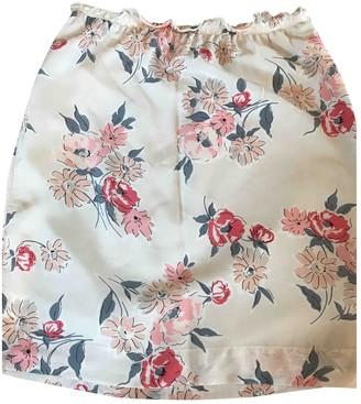 Stella Forest Multicolour Silk Skirt for Women