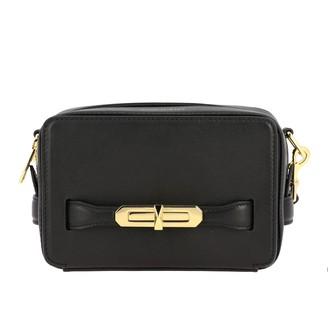 Alexander McQueen Mcq Mcqueen Leather Shoulder Bag With Metal Hook