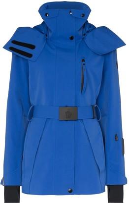 MONCLER GRENOBLE Thielle longline ski jacket