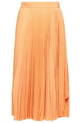 Acne Studios Pleated Crepe Skirt
