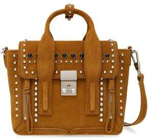 3.1 Phillip Lim Pashli Studded Suede Tote