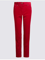 M&S Collection Modal Blend Ankle Grazer Straight Leg Trousers