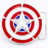 Marvel Captain America Shield Belt Buckle-MAR-1002