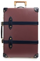 Globe-trotter Brinjal 21-Inch Hardshell Travel Trolley Case - Purple
