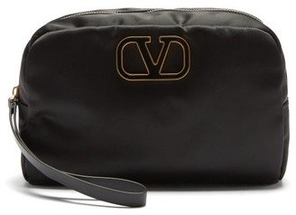 Valentino V-logo Wash Bag - Black