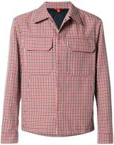 Barena check shirt jacket